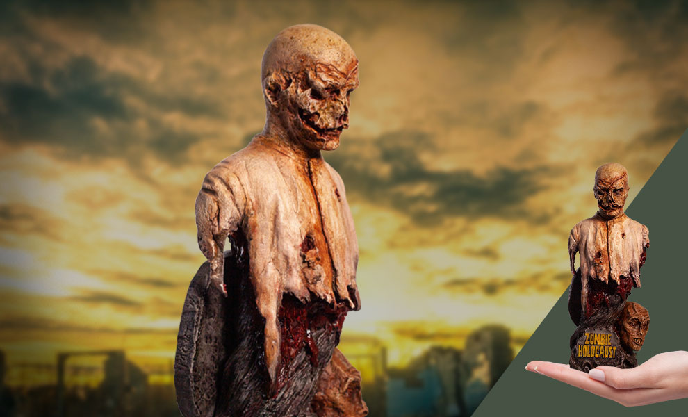 Gallery Feature Image of Poster Zombie Bust Bust - Click to open image gallery