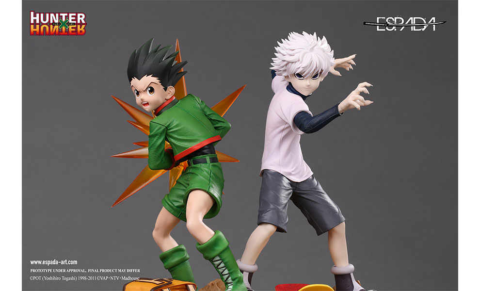 Gallery Feature Image of Gon & Killua Statue - Click to open image gallery