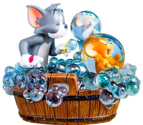 Soap Studio Tom and Jerry - Bath Time Statue