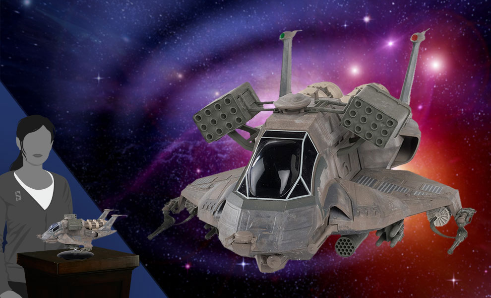 Gallery Feature Image of Colonial Heavy Raptor Model - Click to open image gallery