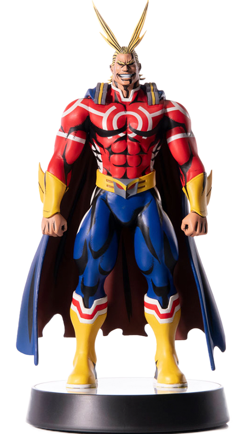 First 4 Figures All Might (Silver Age) Statue