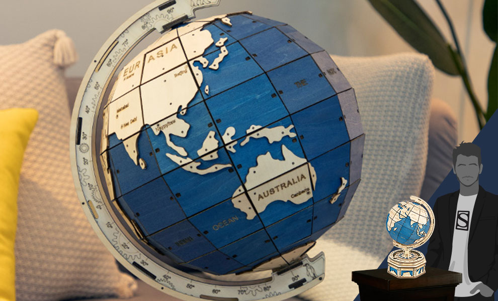 Gallery Feature Image of The Globe Puzzle - Click to open image gallery