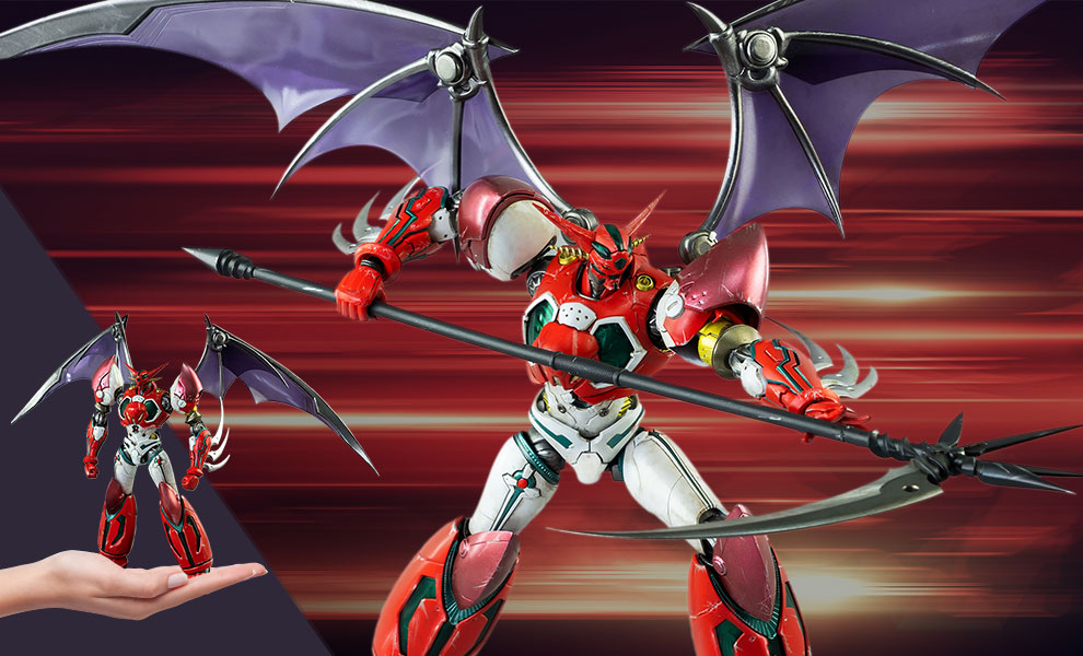Gallery Feature Image of ROBO-DOU Shin Getter 1 (Anime Color Version) Collectible Figure - Click to open image gallery