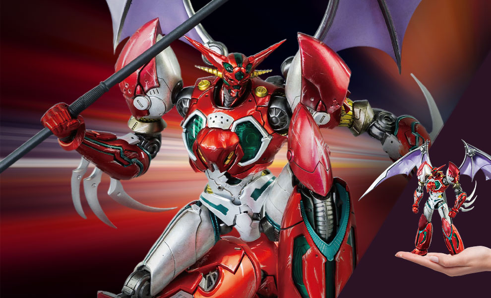 Gallery Feature Image of ROBO-DOU Shin Getter 1 (Metallic Color Version) Collectible Figure - Click to open image gallery