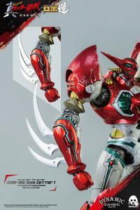 Gallery Image of ROBO-DOU Shin Getter 1 (Metallic Color Version) Collectible Figure