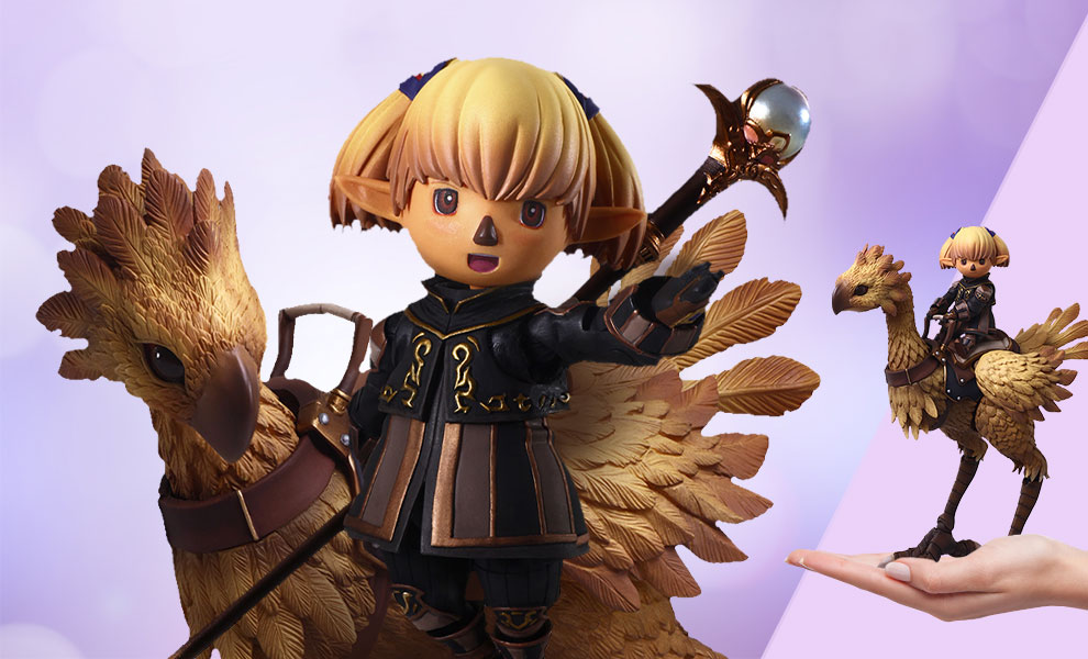 Gallery Feature Image of Shantotto & Chocobo Collectible Set - Click to open image gallery