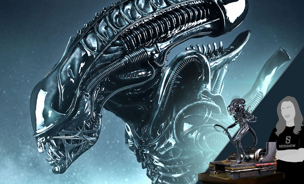 Gallery Feature Image of Alien Warrior Maquette - Click to open image gallery