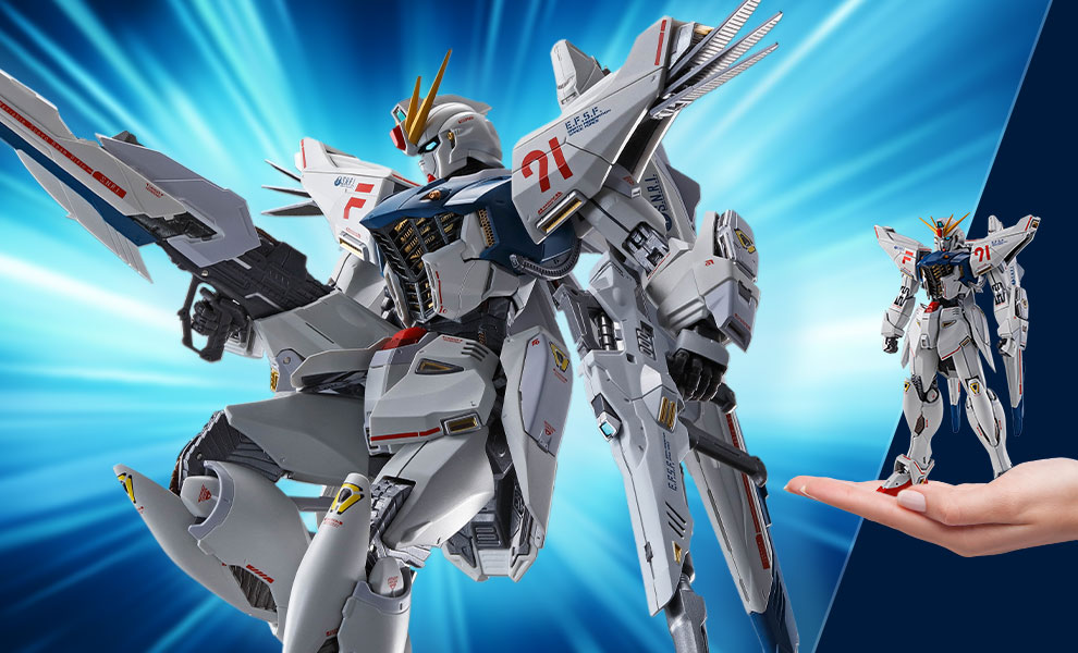 Gallery Feature Image of Gundam Formula 91 (Chronicle White Ver.) Collectible Figure - Click to open image gallery