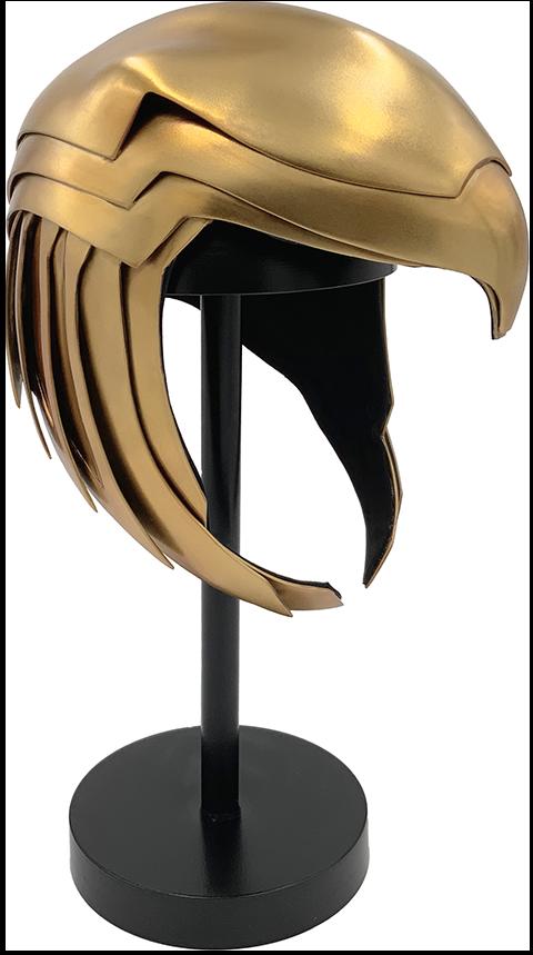 Factory Entertainment Wonder Woman Golden Armor Helmet Prop Replica