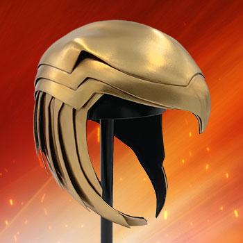 Wonder Woman Golden Armor Helmet Prop Replica