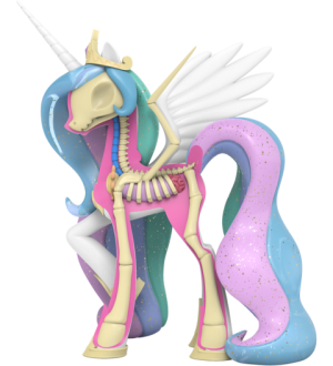 XXRAY Plus: Princess Celestia Collectible Figure