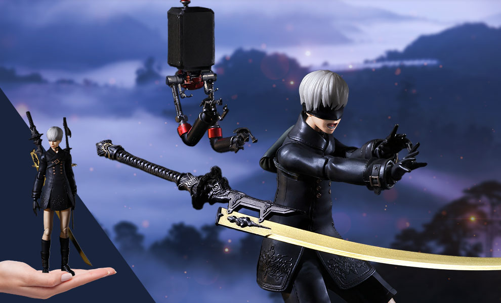 Gallery Feature Image of 9S (YoRHa No.9 Type S) (Deluxe) Action Figure - Click to open image gallery