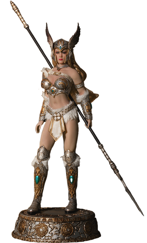 Phicen Tariah the Valkyrie (Silver) Action Figure