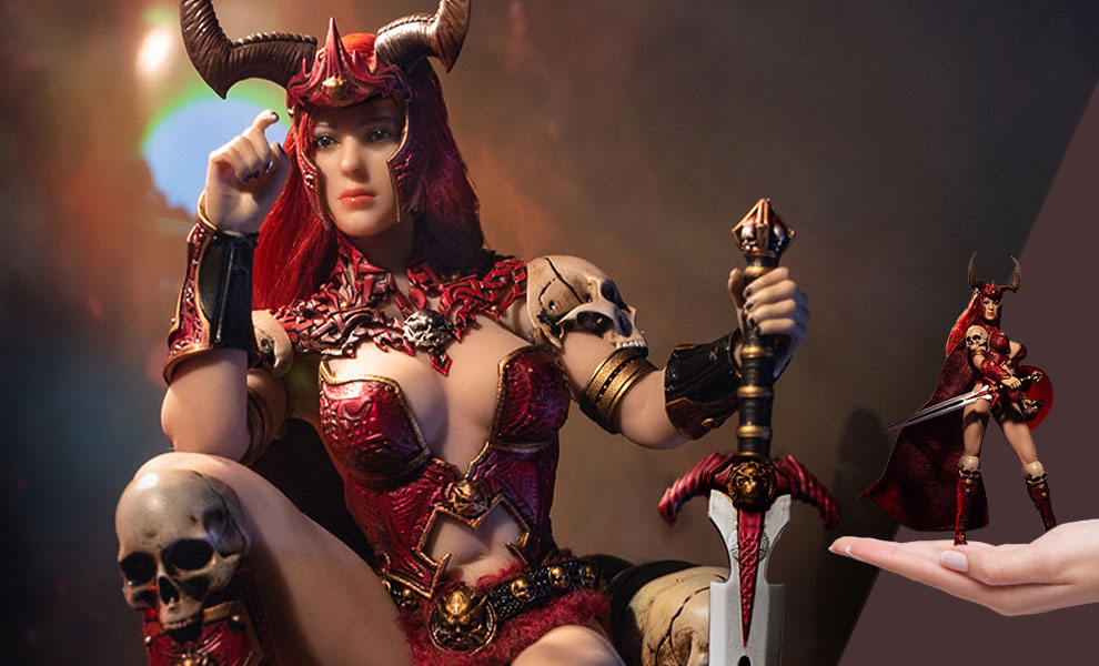Gallery Feature Image of Sariah the Goddess of War Action Figure - Click to open image gallery