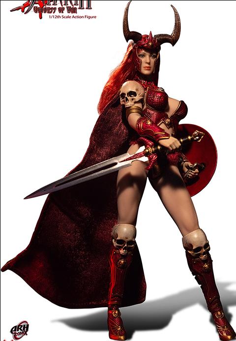 Phicen Sariah the Goddess of War Action Figure