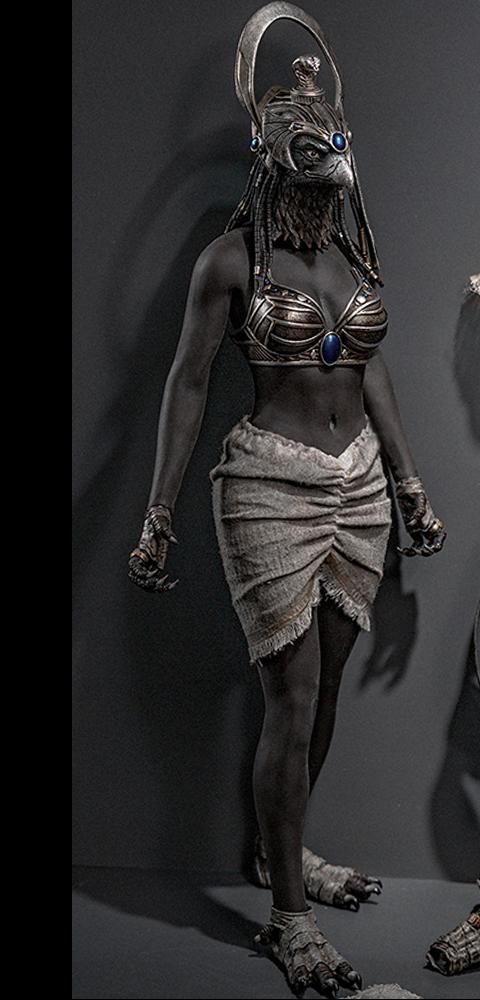 TBLeague Month Deity of War (Silver) Sixth Scale Figure