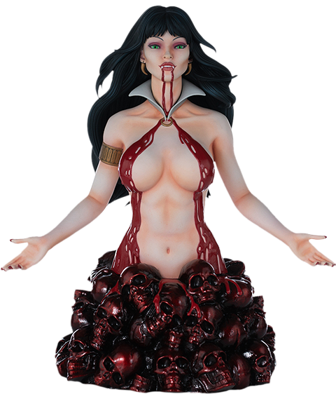 Dynamite Entertainment Vampirella (Red Reign Proof) Bust