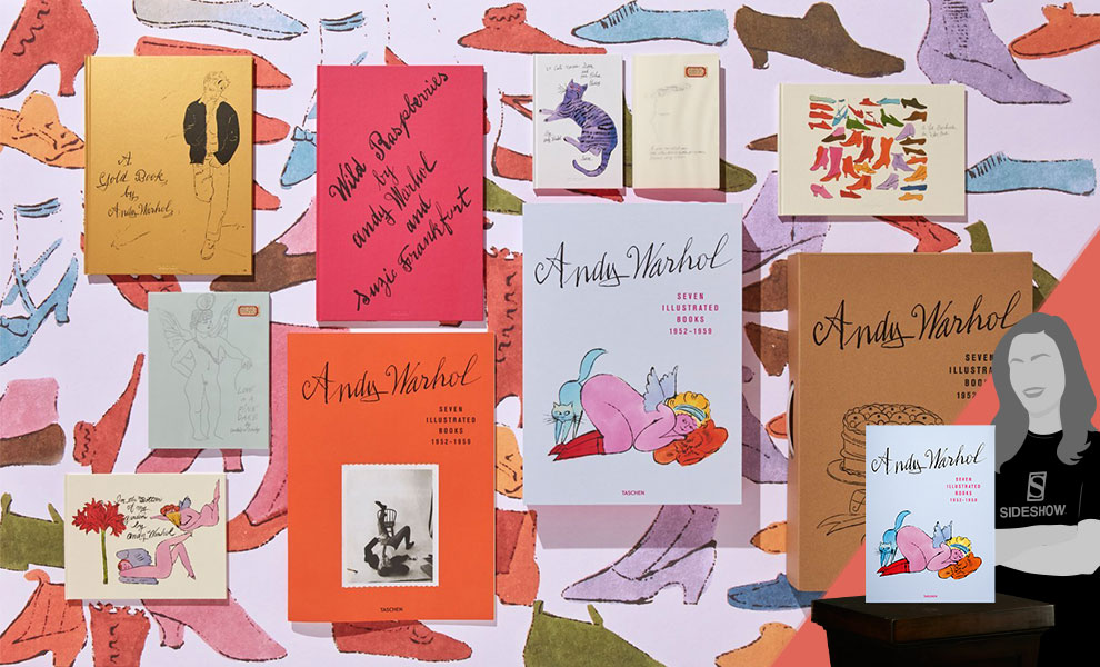 Gallery Feature Image of Andy Warhol:  Seven Illustrated Books 1952 – 1959 Book - Click to open image gallery