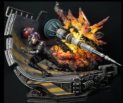 Prime 1 Studio Alita: Berserker Motorball Tryout (Bonus Version) Diorama