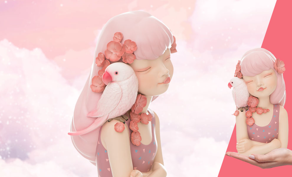 Gallery Feature Image of Elf (Asaka Powder Pink) Bust - Click to open image gallery