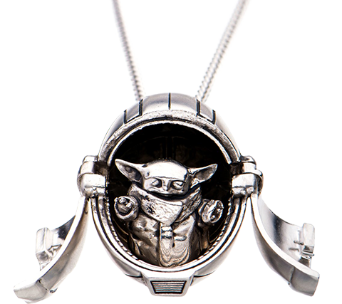 RockLove The Child Hover Pram Pendant Jewelry