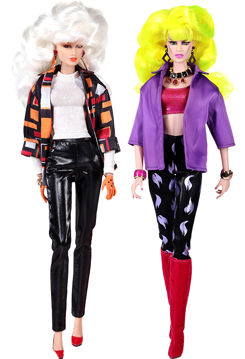 """Integrity Toys I Am A Giant Phyllis """"Pizzazz"""" Gabor™ and Roxanne """"Roxy"""" Pellegrini™ Gift Set Collectible Doll"""