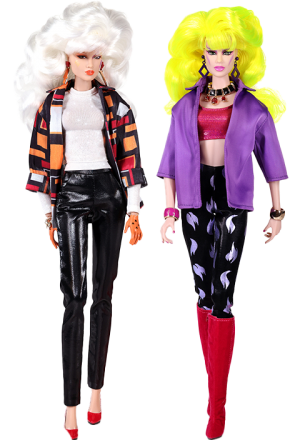 """I Am A Giant Phyllis """"Pizzazz"""" Gabor™ and Roxanne """"Roxy"""" Pellegrini™ Gift Set Collectible Doll"""