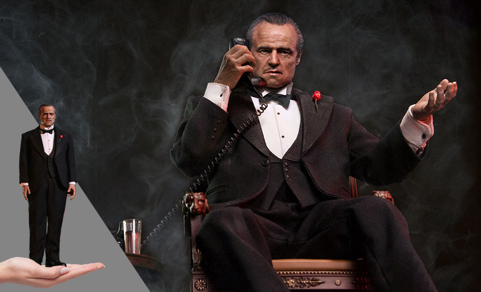 Gallery Feature Image of Vito Corleone Sixth Scale Figure - Click to open image gallery