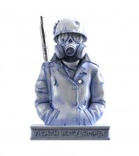 Gallery Image of Gas Mask (Hell Chamber) Mixed Media Statue