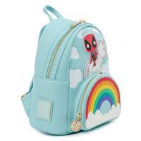 Gallery Image of Deadpool 30th Anniversary Unicorn Rainbow Mini Backpack Apparel
