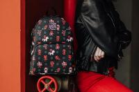 Gallery Image of Deadpool 30th Anniversary AOP Mini Backpack Apparel