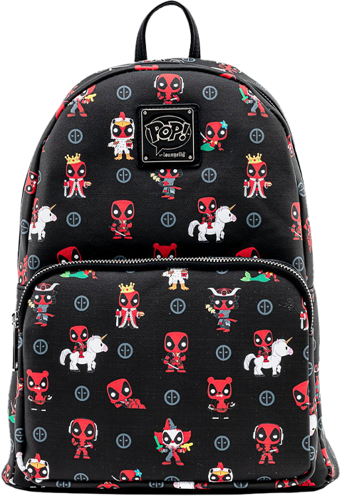 Loungefly Deadpool 30th Anniversary AOP Mini Backpack Apparel