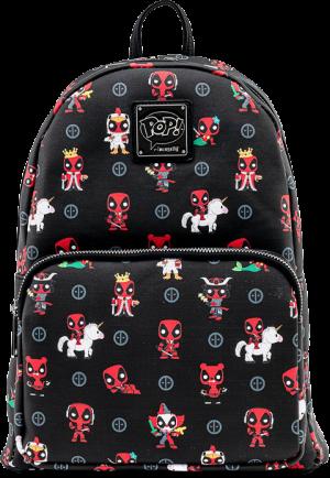 Deadpool 30th Anniversary AOP Mini Backpack Apparel