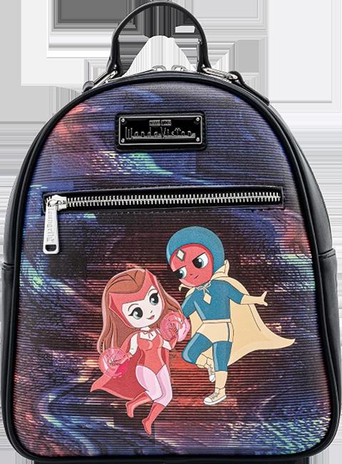 Loungefly Wanda Vision Chibi Mini Backpack Apparel