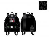 Gallery Image of Darth Vader Light-Up Cosplay Mini Backpack Apparel