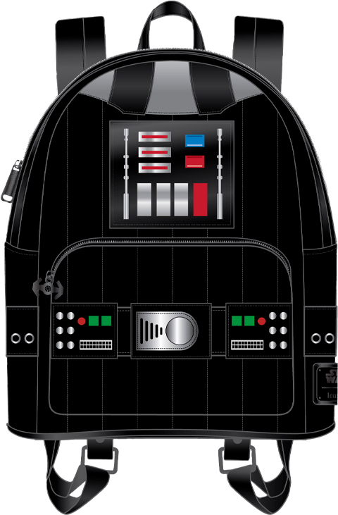 Loungefly Darth Vader Light-Up Cosplay Mini Backpack Apparel