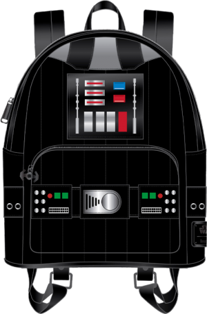 Darth Vader Light-Up Cosplay Mini Backpack Apparel