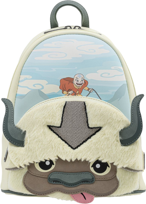 Aang Appa Cosplay Plush Mini Backpack Apparel