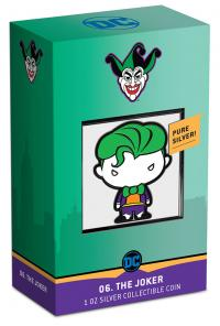 Gallery Image of The Joker 1oz Silver Coin Silver Collectible