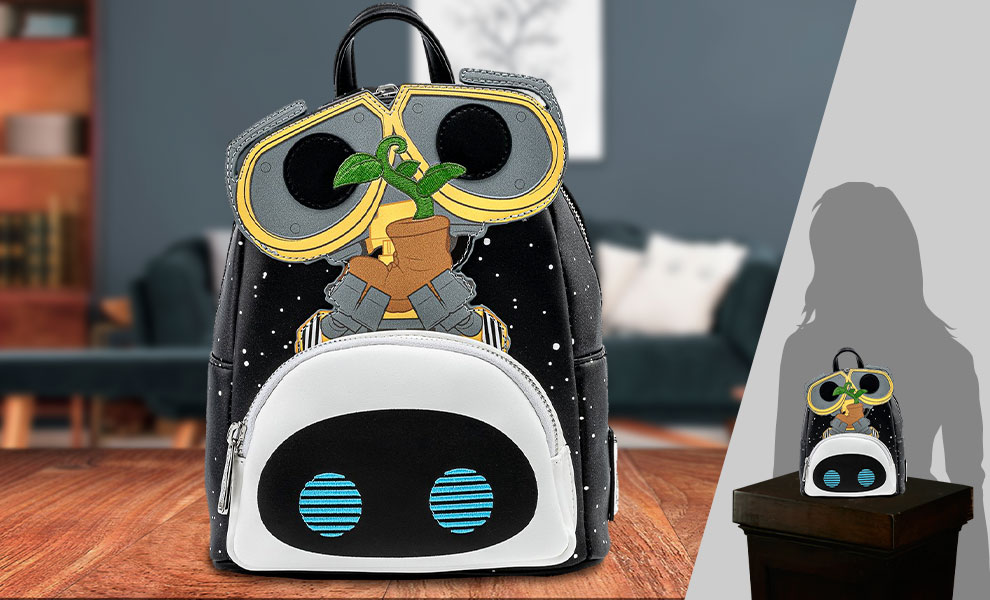Gallery Feature Image of Wall-E Eve Boot Earth Day Cosplay Mini Backpack Apparel - Click to open image gallery
