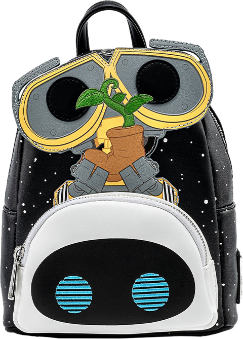 Loungefly Wall-E Eve Boot Earth Day Cosplay Mini Backpack Apparel
