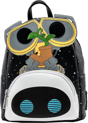 Wall-E Eve Boot Earth Day Cosplay Mini Backpack Apparel