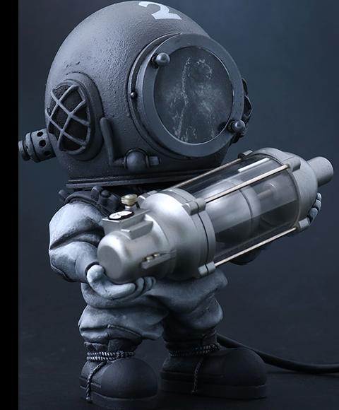 X-Plus Dr. Serizawa (Black & White Version) Collectible Figure