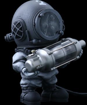 Dr. Serizawa (Black & White Version) Collectible Figure
