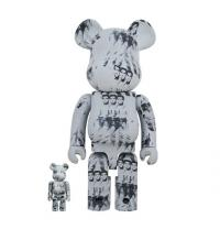 Gallery Image of Be@rbrick Andy Warhol's Elvis Presley 100% & 400% Collectible Set