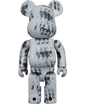 Be@rbrick Andy Warhol's Elvis Presley 1000% Collectible Figure