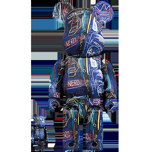 Medicom Toy Be@rbrick Jean Michel Basquiat #7 100% & 400% Bearbrick