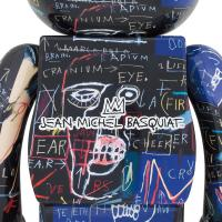 Gallery Image of Be@rbrick Jean Michel Basquiat #7 1000% Collectible Figure