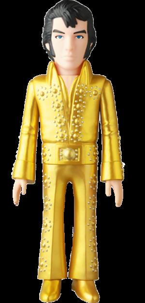 Elvis Presley Gold Version Vinyl Collectible