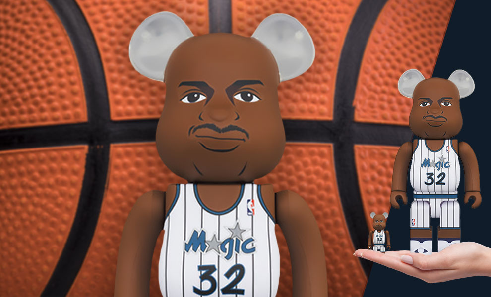 Gallery Feature Image of Be@rbrick Shaquille O'Neal (Orlando Magic) 100% and 400% Collectible Set - Click to open image gallery